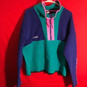 Other - Mens Vintage Columbia fleece sweatshirt